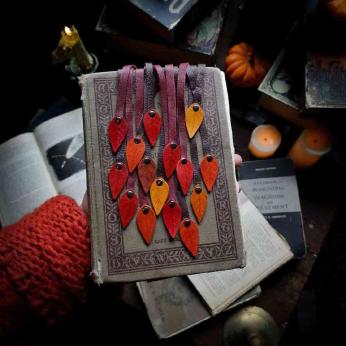Fall Leaf Bookmark