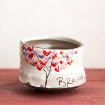 """""""Love Tree"""" Tea Bowl"""
