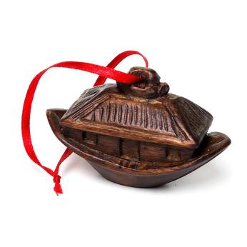 Jacaranda Noah's Ark Christmas Ornament