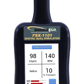 FSX-1101 Pulse Oximeter Simulator
