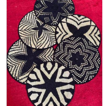 Moroccan Round Placemats