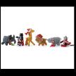 Safari Animal Ornaments- set of 6