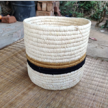 circle-striped handwoven Basketry