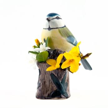 Quail Animal Bud Vases