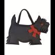 SCOTTIE DOG BAG / JPOURSE Leather Bag