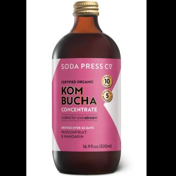 Organic Kombucha Concentrate - Passionfruit & Mandarin Kombucha