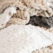 Infinite Chunky Knit Blanket Collection
