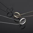 Tilt Long Necklace - 22037