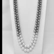 Black & White South Sea Pearl Double Ombre