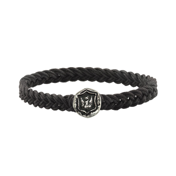 Bravery and Protection Braided Bracelet