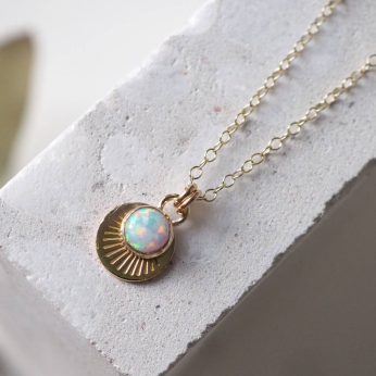 Horizon Necklace - Gold Filled