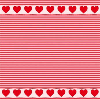 Mierco Hearts Jacquard Tea Towel