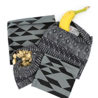 Reusable Organic Cotton Snack Bags