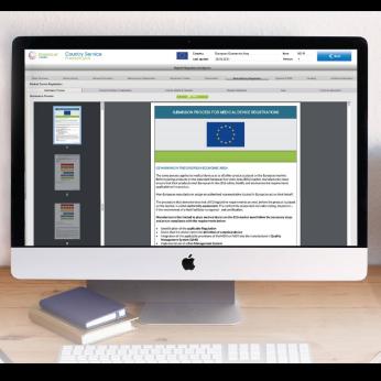 Daedalus - Online Database for Medical Device Registration