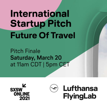 EVENT | March 20 | Future of Travel - Lufthansa FlyingLab Startup Pitch Finale