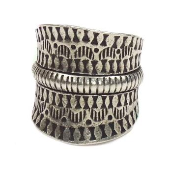 Tribal Garden Sterling Silver Ring