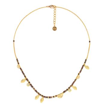 Franck Herval Vanille Multi-Dangle Necklace