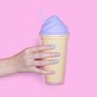 Ice Cream Tumbler Purple 16oz