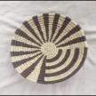 Sunburst-Concentric Handwoven Wall Basket