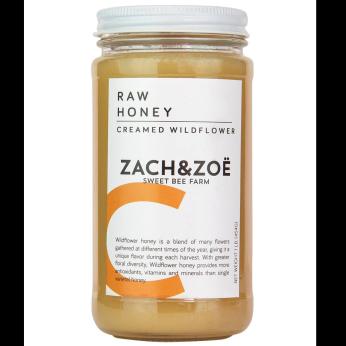 Creamed Wildflower Honey 16oz
