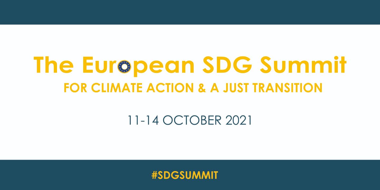 The European SDG Summit 2021