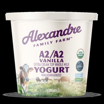 Alexandre Family Farm A2/A2 Organic Vanilla Yogurt