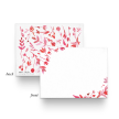 Flat Notecards - Pink Floral Watercolor