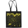 Pittsburgh Black Tote