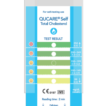 (The New) QUCARE Self Total Cholesterol Kit