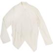 Japan Drape Cardigan - Organic Khadi Handwoven Cotton  Natural Dyed