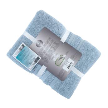 Alexis® Irvington™ 6 Piece Towel Set, Blue Fog - Store Ready