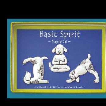 Dog Yoga Magnet Set