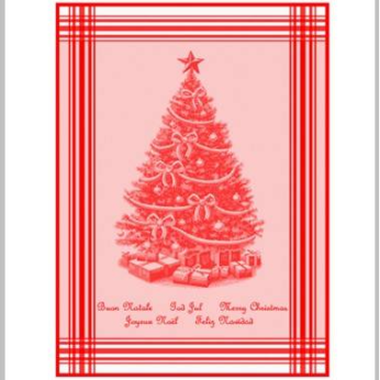 Mierco Holiday Jacquard Tea Towel