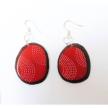 Tagua Engraved Leigh Earrings
