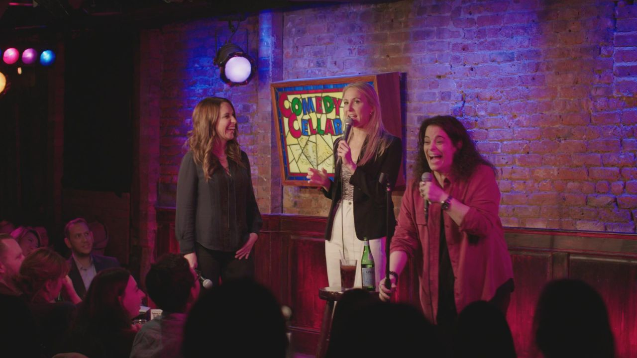 HYSTERICAL: Behind the Velvet Curtain with Stand-Up Comedy's Boundary-Breaking Women