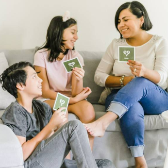 Family Conversation Card Game
