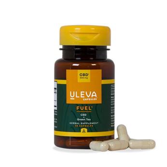Uleva Fuel: CBD + Green Tea