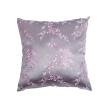 Cherry Blossom Brocade Throw Pillow Cover