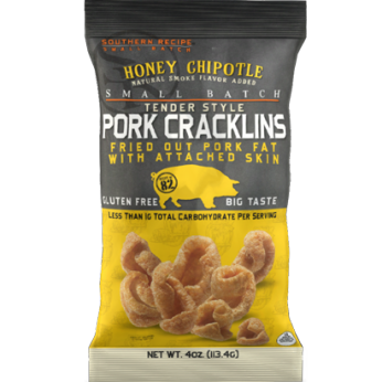 Honey Chipotle Tender Style Pork Cracklins
