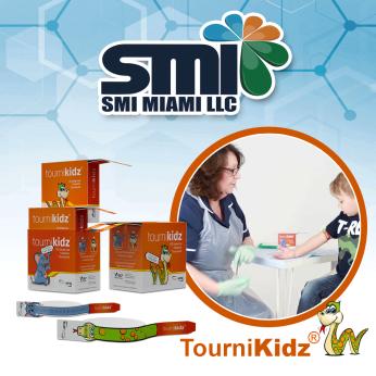 TourniKidz  ™ - Torniquete descartable pediátrico - Pediatric disposable tourniquet