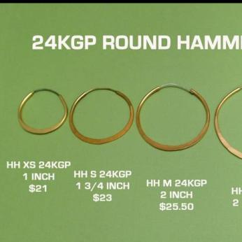 24 KGP Round Hoops
