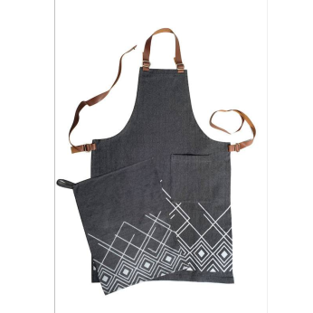 Aprons with Block Printing