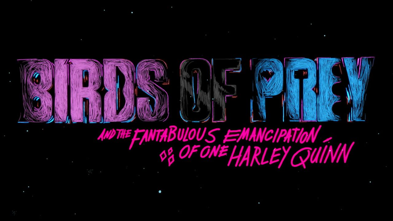 Birds Of Prey and the Fantabulous Emancipation of One Harley Quinn Title Sequence