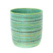 Seaside Stripes Bath Bin Basket