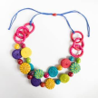 Iraca -Chicon Candy Necklace