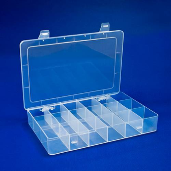 21 Grids Component Case Box Organizer For Hobby Collection