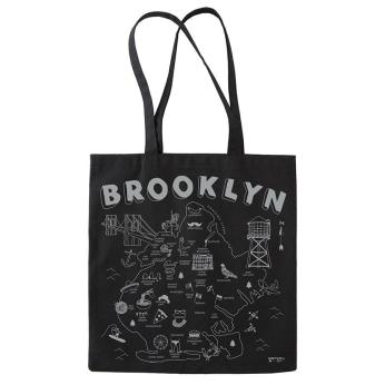 Brooklyn Black Tote