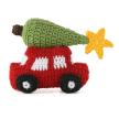Crochet Holiday Car Ornament- set of 6