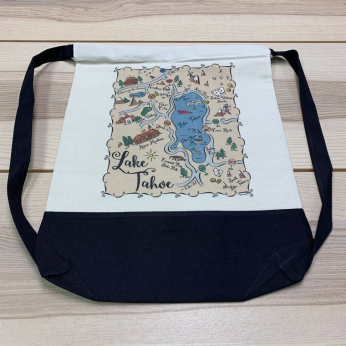 Illustrated Map Design Daybags