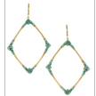 Four Corners Earrings - FASHION COLLECTION